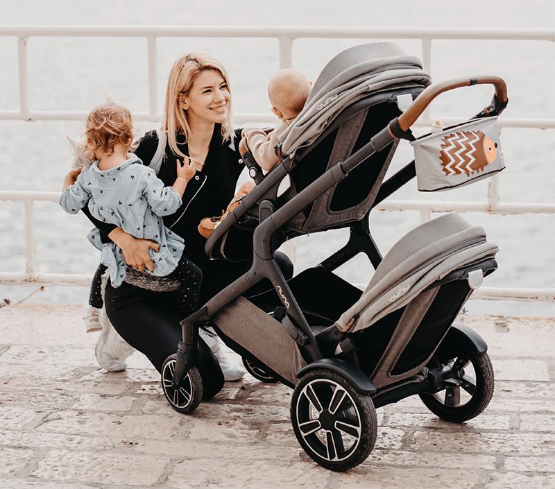 Voziček za enega ali dva otroka: Nuna Demi Grow