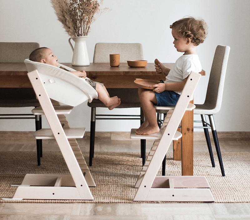 Kultni Tripp Trapp - stolček za vsa starostna obdobja