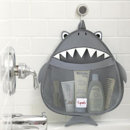3Sprouts® Mreža za shranjevanje igrač Morski pes