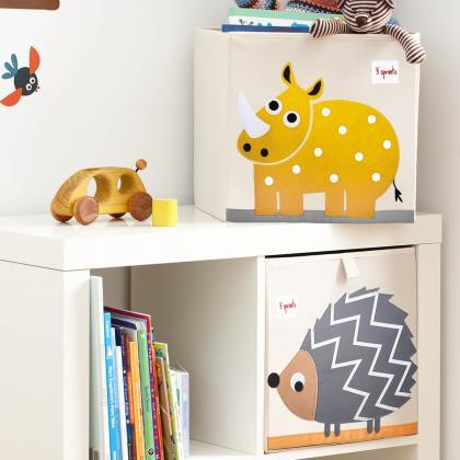 3Sprouts® Škatla za shranjevanje igrač Nosorog