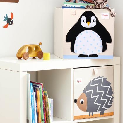 3Sprouts® Škatla za shranjevanje igrač Pingvin