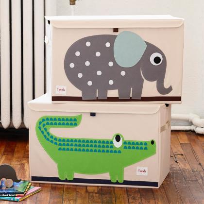 3Sprouts® Zabojnik za shranjevanje igrač Krokodil