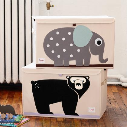 3Sprouts® Zabojnik za shranjevanje igrač Medved
