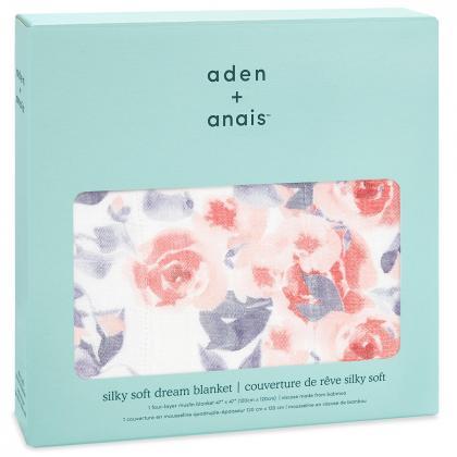 Aden+Anais® Bambusova odejica Watercolour Garden