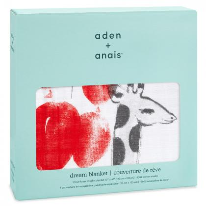 Aden+Anais® Bombažna odejica Dream Ride