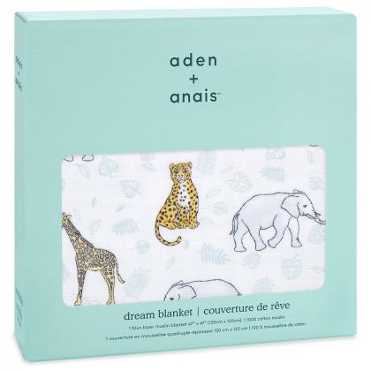 Aden+Anais® Bombažna odejica Jungle