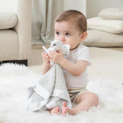Aden+Anais® Ninica z igračko Twinkle