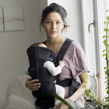 BabyBjörn® Ergonomska nosilka Mini Cotton Black