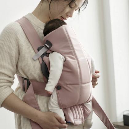 BabyBjörn® Ergonomska nosilka Mini Cotton Old Rose