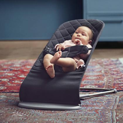 BabyBjörn® Gugalnik Balance Bliss Cotton Black
