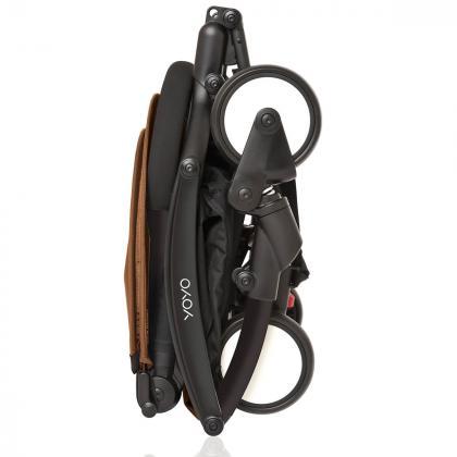Babyzen® Yoyo+ Otroški voziček 2v1 Toffee Black Frame