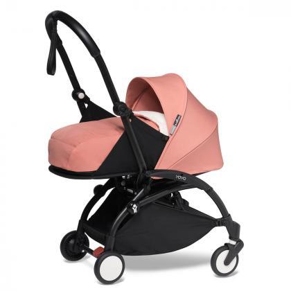 Babyzen® Yoyo+ Otroški voziček 3v1 Ginger Black Frame  +  iZi Go Modular™ by BeSafe® Grey