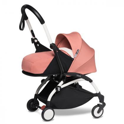 Babyzen® Yoyo+ Otroški voziček 3v1 Ginger White Frame  +  iZi Go Modular™ by BeSafe® Grey