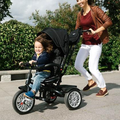 Bentley® Trike Otroški Tricikel 6v1 Onyx Black