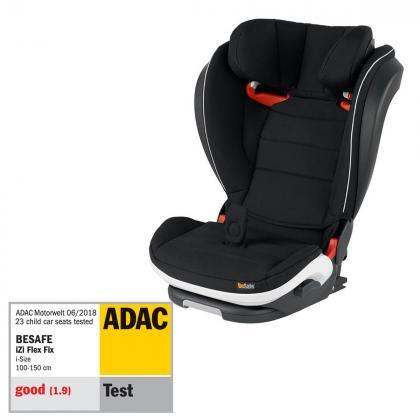 BeSafe® Otroški avtosedež iZi Flex™ Fix i-Size 2/3 (15-36 kg) Fresh Black Cab