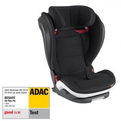 BeSafe® Otroški avtosedež iZi Flex™ Fix i-Size 2/3 (15-36 kg) Premium Car Interior Black