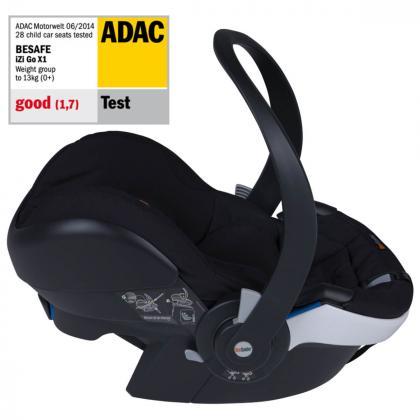 BeSafe® Otroški avtosedež iZi Go Modular™ X1 i-Size 0+ (0-13 kg) Fresh Black Cab