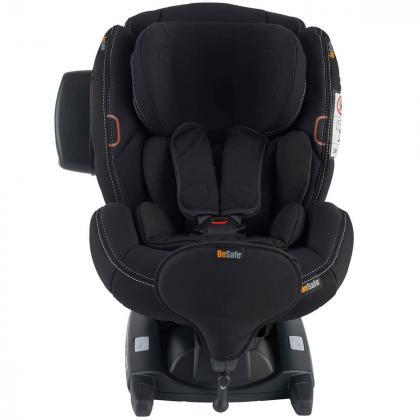 BeSafe® Otroški avtosedež iZi Kid™ X3 i-Size 1 (9-18 kg) Premium Car Interior Black