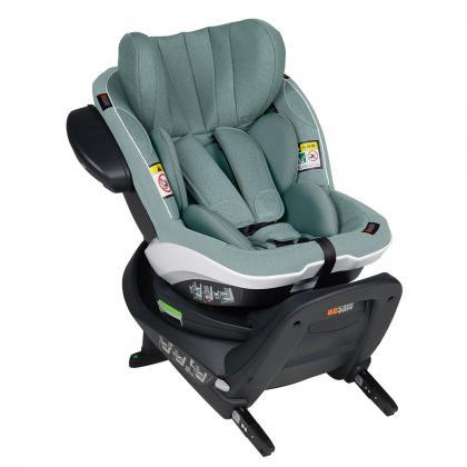 BeSafe® Otroški avtosedež iZi Turn™ 360° i-Size 1 (9-18 kg) Sea Green Mélange