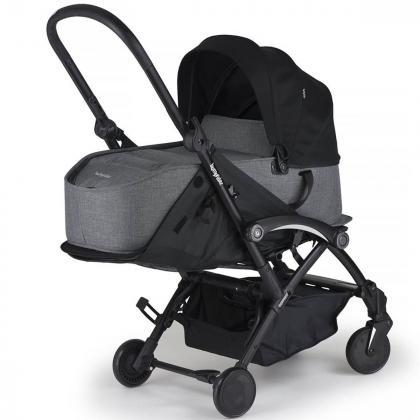 Bumprider® Connect™ košara za novorojenčka Grey Melange