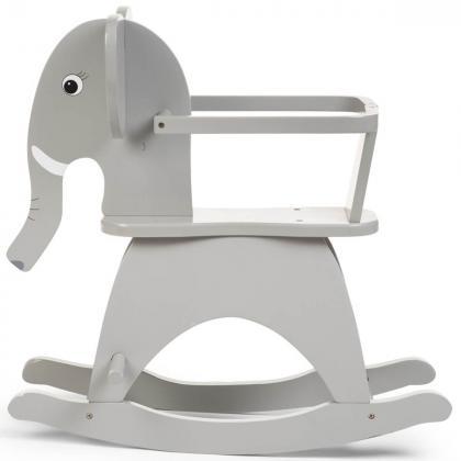 Childhome® Otroški gugalnik Rocking Elephant Grey