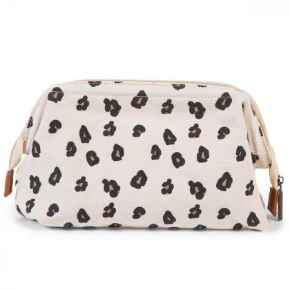 Childhome® Toaletna torbica Baby Necessities Canvas Leopard