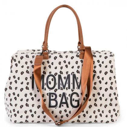 Childhome® Torba Mommy Bag Canvas Leopard