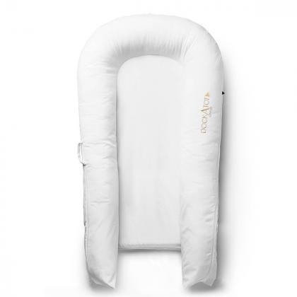 DockATot® Bombažna prevleka za gnezdece Grand Pristine White (9-36 m)