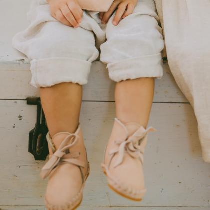 Donsje® Otroški topli čevlji Pina Classic Powder Nubuck