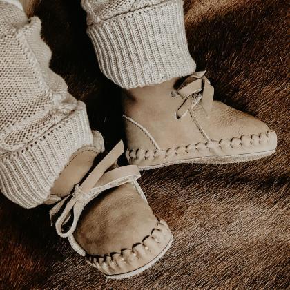 Donsje® Otroški topli čevlji Pina Classic Truffle Nubuck