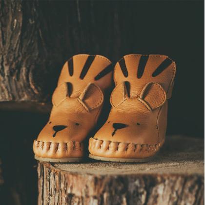 Donsje® Otroški topli škorenjčki Kapi Special Tiger