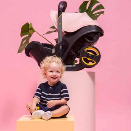 Doona® Otroški avtosedež in voziček Doona 0+ (0-13 kg) Blush Pink