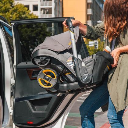 Doona® Otroški avtosedež in voziček Doona 0+ (0-13 kg) Grey Hound