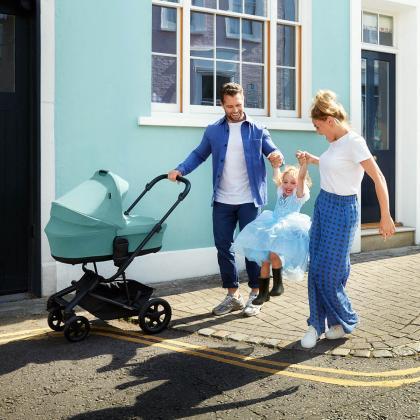 Easywalker® Košara za novorojenčka Harvey² Ocean Blue