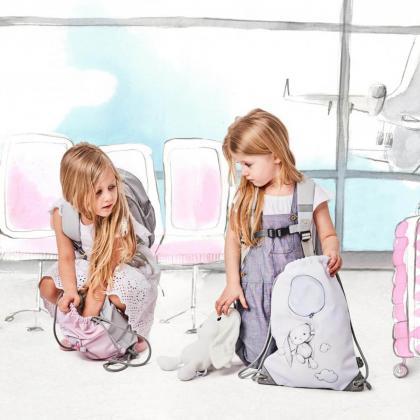 Effiki® Otroški športni nahrbtnik Dancing Ballerina