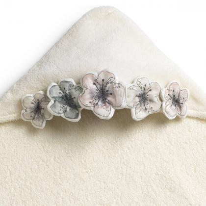 Elodie® Otroška kopalna brisačka Embedding Bloom