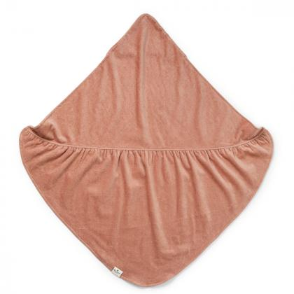 Elodie® Otroška kopalna brisačka Faded Rose