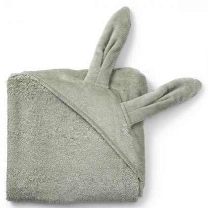 Elodie® Otroška kopalna brisačka Mineral Green Bunny