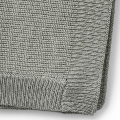 Elodie® Otroška pletena volnena odejica Mineral Green