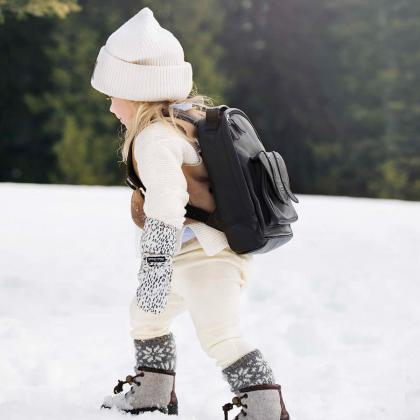 Elodie® Otroške zimske rokavičke Dots of Fauna