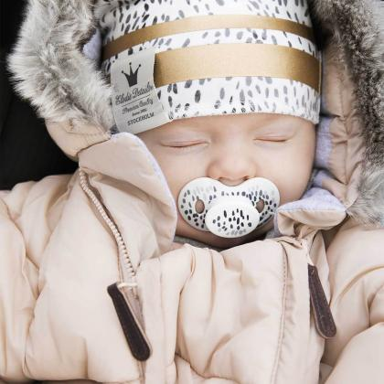 Elodie® Pajac in zimska vreča za dojenčka Powder Pink