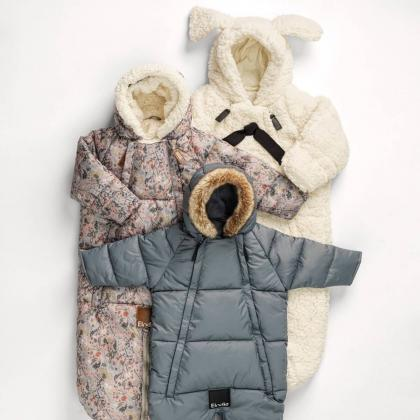 Elodie® Pajac in zimska vreča za dojenčka Tender Blue