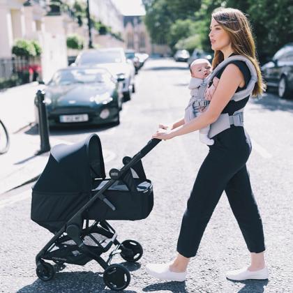 Ergobaby® Košara za novorojenčka Metro Black