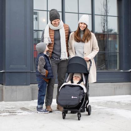 Ergobaby® Zimska vreča Metro Black