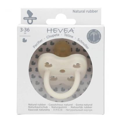 Hevea® Ortodontska duda iz kavčuka Colourful Snow White