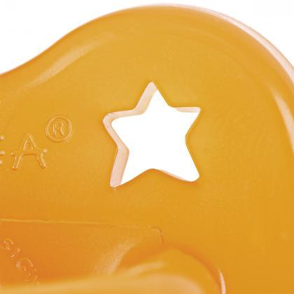 Hevea® Ortodontska duda iz kavčuka Star&Moon