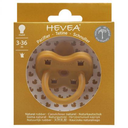 Hevea® Ortodontska duda iz kavčuka Colourful Turmeric