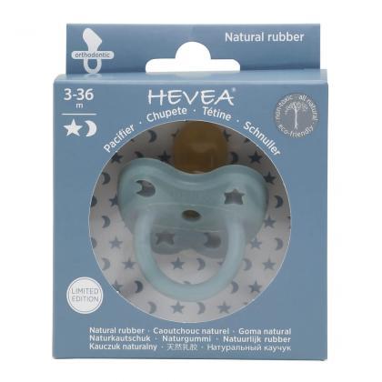 Hevea® Ortodontska duda iz kavčuka Colourful Winter Sky