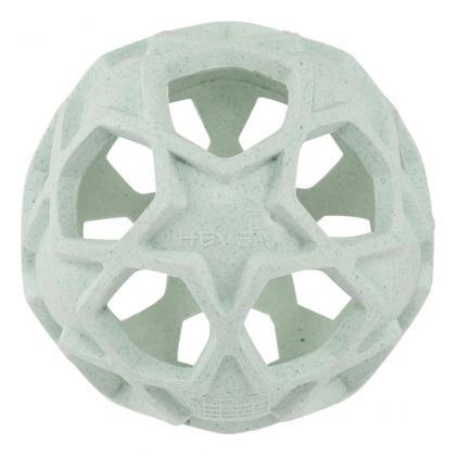 Hevea® Steklenička s snemljivo žogico iz kavčuka 150 ml Upcycled Mint