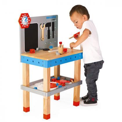 Janod® Delovna miza z orodjem Brico Kids Giant